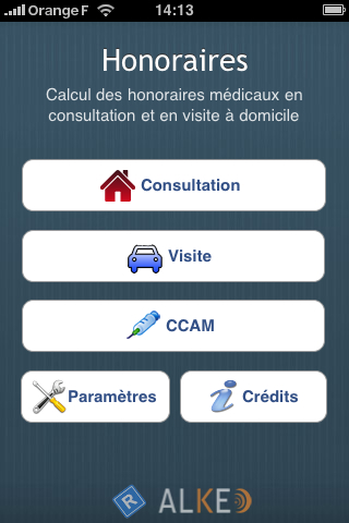 Honoraires iPhone