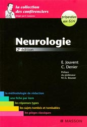 Neurologie - E.JOUVENT, C.DENIER - MASSON - La collection des conférenciers