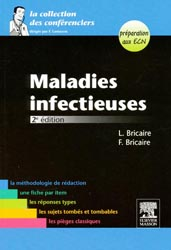 Maladies infectieuses - L.BRICAIRE, F.BRICAIRE - MASSON - La collection des conférenciers
