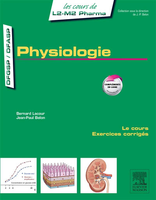Physiologie - Bernard LACOUR, Jean-Paul BELON - ELSEVIER / MASSON - Les cours de L2-L3 Pharma