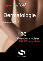 Dermatologie - COLLECTIF - S EDITIONS - 120 questions isolees