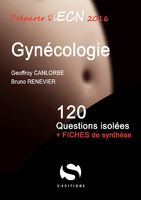 Gynécologie - Geoffroy CANLORBE, Bruno RENEVIER - S EDITIONS - 120 questions isolees