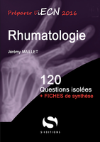 Rhumatologie - Jérémy MAILLET - S EDITIONS - 120 questions isolees
