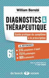 Diagnostics et thérapeutique - William BERREBI - DE BOECK / ESTEM -