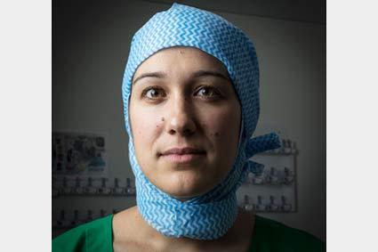 Alizée Porto chef de clinique a la Timone : la CTCV, une belle chirurgie