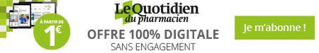 Le Quotidien du pharmacien offre 100% digitale